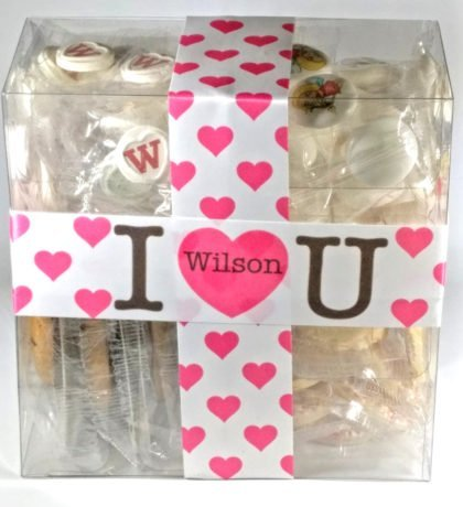 Customised valentines sweet gift boxes for women