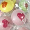 Printed Valentine Flying Saucers