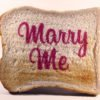 Valentine's Day Edible Printed Toast