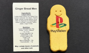 Playstation Gingerbread man